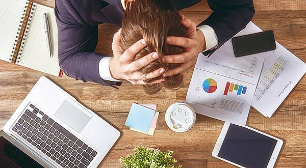 Stres wpracy pojawia się zwykle przy poczuciu niskiej kontroli lub jej braku.
