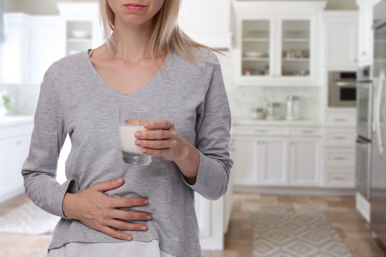 Mleko często wywołuje alergię.
