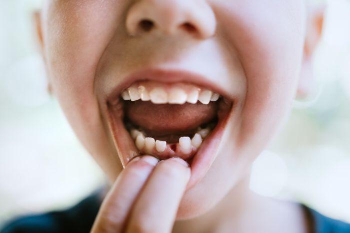 Dzieci mają zazwyczaj 20 zębów mlecznych