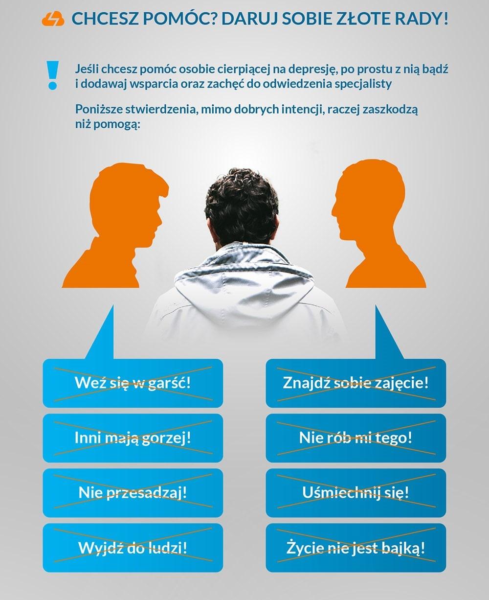 Jak pomóc osobie zdepresją?