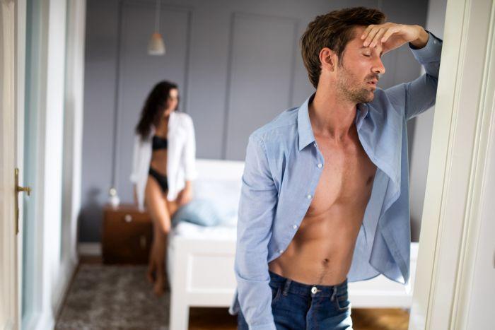 Zaburzenia erekcji mogą być skutkiem problemów na tle psychogennym