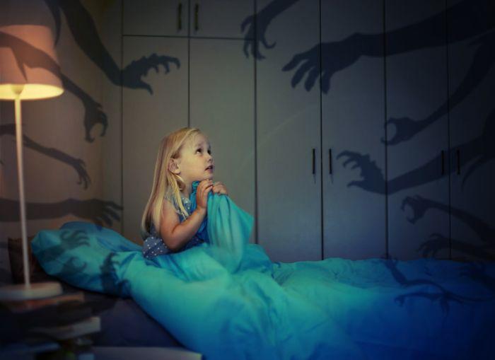 Koszmary senne pojawiają się głównie udzieci, między 3 a5 rokiem życiar