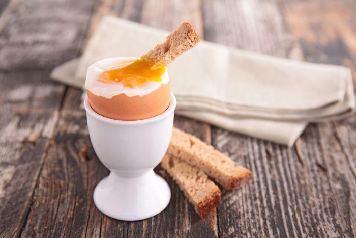 Jajka na miękko uważane są za zdrowe ipożywne