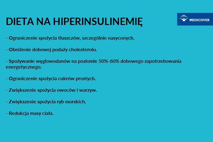 Hiperinsulinemia dieta